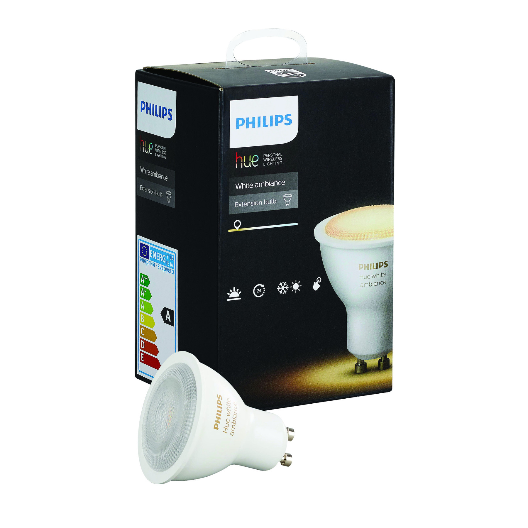 philips hue white ambiance led smart light bulb gu10 ebay. Black Bedroom Furniture Sets. Home Design Ideas